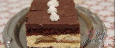 Recept Vynikající piškotové řezy Macaroons, No Bake Cake, Vanilla Cake, Nutella, Tiramisu, Deserts, Food And Drink, Sweets, Cookies
