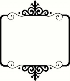 frame i vinyl decal borders frames vinyl decals