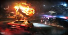 Project: Need for Speed: Payback Client: EA/Ghost Art direction: Alitt Khaliq Some concepts/key illustrations dump I did for NFS: Payback game. Need For Speed, Art Direction, Video Games, Sci Fi, Artwork, Videogames, Work Of Art, Video Game, Science Fiction
