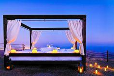Romantic dinner under the stars - Sheraton Salobre Golf Resort & Spa, Gran Canaria, Canary Islands, Spain