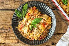 Romige lasagne met rundergehakt