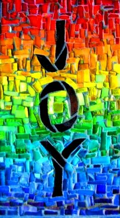 Rainbow colors ❖de l'arc-en-ciel❖❷Toni Kami Colorful mosaic