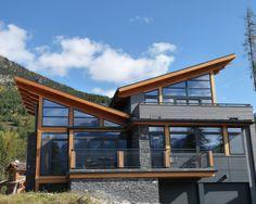 shed inspiration - Grey Exterior Black Trim Design