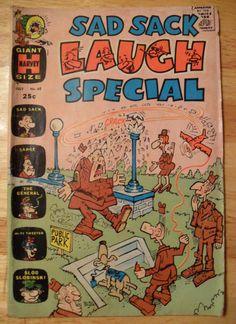 SAD SACK LAUGH SPECIAL Comic Book (JuL 1971) Harvey Comics (Vol. 1, No. 60)!!!
