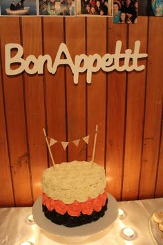 Neapolitan 21st cake