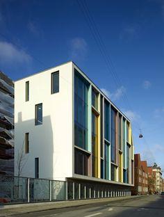 SCHOOL | School renovation by CF Møller Architects. #CF #Møller #Architects #School #Exterior #Renovation #Design #Architecture [ok]