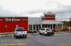 Bob Evans Restaurant in Wytheville, VA - a decent place for reliable food, good service and a pleasing atmosphere.