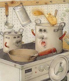 Nos encantan estos utensilios de cocina!