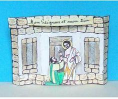 knutsel De ongelovige Thomas Bible craft Doubting Thomas http://www.vienslevetoi.com/wp-content/uploads/2011/07/Mon-Seigneur-et-mon-Dieu.pdf