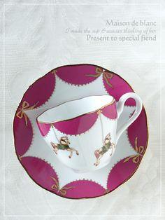 Carousel teacup