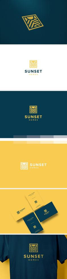 Sunset Home on Behance