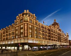 Always worth a visit: Harrods on Old Brompton Road (Tube: Knightsbridge). London's 3rd most visited tourist attraction.