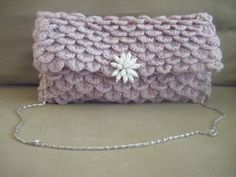 INSTANT DOWNLOAD Clutch Crocodile Oversize Crochet por NatalieSpot