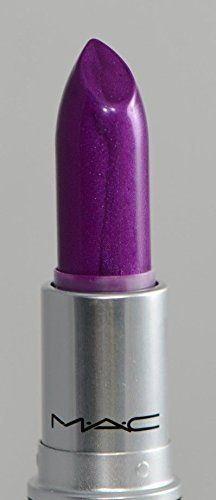 """Type : Single Effect : Amplified Creme Brand : #MAC #Violetta Lipstick Shade : Violetta (Bright Clean Violet Purple) Size : Full Size Country of Manufacture : Ca..."
