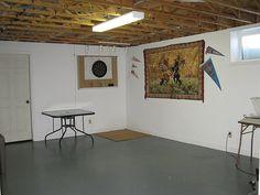 Semi finished basement