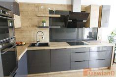 Meble kuchenne, meble dedykowane, projektowanie - Drewland. Corner Desk, Kitchen Cabinets, House, Inspiration, Furniture, Home Decor, Kitchen Ideas, Blog, Life