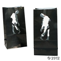 Zombie Party Luminary Bags, #OrientalTrading #HalloweenWishList