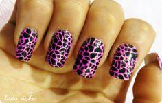 nail, nail, nail, animal print, nails, nailart
