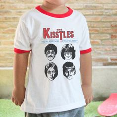 The Kisstles New Rock Band Cool Kids Wear Music Lover Who Love Kiss And The Beatles T- Shirt by insehomemade on Etsy