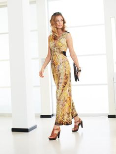 BurdaStyle - Twisted Maxi Dress