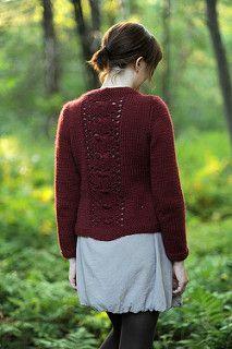 Ravelry: Crestview pattern by Cecily Glowik MacDonald Knitting Yarn, Hand Knitting, Red Cardigan, Yarn Shop, Garter Stitch, Crochet Fashion, Lana, Knit Crochet, Knitting Patterns