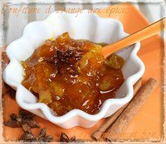 Confiture d'orange aux épices.