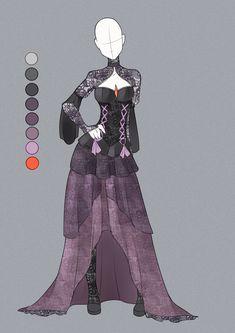Dark Queen outfit ~