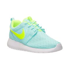 Women's Nike Roshe One Breeze Casual Shoes ($75) ❤ liked on Polyvore featuring shoes, sneakers, waffle shoes, nike footwear, patterned shoes, tie shoes and print shoes