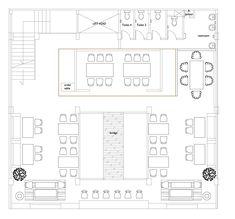 alvinT studio: porterhouse Restaurant Floor Plan, Banquet Seating, Space Dividers, Porterhouse, Hotel Interiors, Window Frames, Geometric Wall, Photo Studio, Building A House