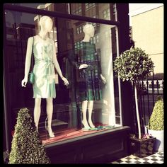 Bang on Trend Pastel Green Yong Dress, Stunning 1970's Lanvin.
