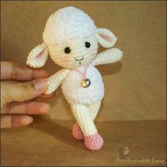 Очень милая овечка