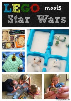 LEGO and Star Wars activities kids will love! A few different things you can do with LEGOs that are related to Star Wars and easy to do at home. #legostarwarscg ad