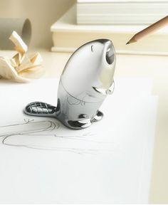 Kastor Pencil Sharpener By Rodrigo Torres for Alessi