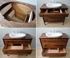 Vermont Vanities Bathroom Vanity ~ furniture is very rough when they start a project