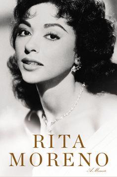 "Read ""Rita Moreno A Memoir"" by Rita Moreno available from Rakuten Kobo. In this New York Times bestselling memoir, Rita Moreno shares her remarkable journey from a young girl with simple begin. Rita Moreno, Divas, Celebrity Headshots, Puerto Rico, Hispanic Actresses, Viejo Hollywood, Old Celebrities, Celebs, Marlon Brando"