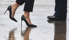 Nå lurer jeg på dette med høyhælte, spisse sko, skriver Camilla Stoltenberg.