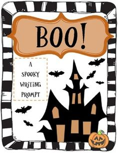 A spooky writing prompt to use not only during Halloween, but any time during the year! Sparks student creativity and imagination!!