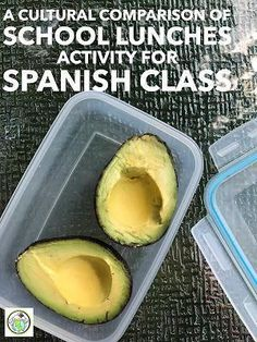 Cultural Comparison of School Lunch Activity For Spanish Class Spanish Basics, Ap Spanish, Spanish Culture, How To Speak Spanish, Learn Spanish, Spanish Food, Spanish Notes, Spanish Alphabet, Middle School Spanish