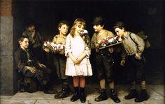 John_George_Brown_-_Street_Gallantry_(c.1884)
