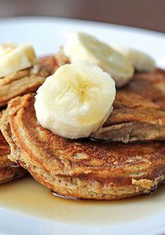 Skinny Mini Banana Pancakes!