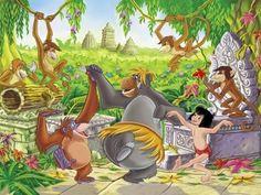 Le livre de la jungle(Disney)