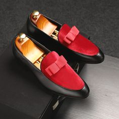 Outsole Material: Rubber Closure Type: Slip-On Fit: Fits true to size, take your normal size Leather Brogues, Suede Loafers, Cow Leather, Loafer Shoes, Patent Leather, Gentleman Shoes, Latest Shoe Trends, Leather Dress Shoes, Shoes Outlet