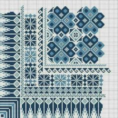 Embroidery Sampler, Cross Stitch Embroidery, Embroidery Patterns, Hand Embroidery, Cross Stitch Charts, Cross Stitch Designs, Cross Stitch Patterns, Palestinian Embroidery, Textile Texture