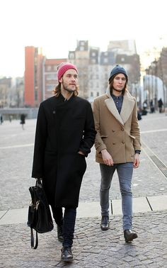 streetstyle inspiration  WORMLAND Men's Fashion #fall #winter