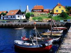 Denmark - Bornholm Island : 200km East of Copenhagen, delightful slow paced, ideal getaway, small fishing villages