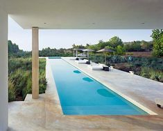 swimming pool, Ibiza (by Studio Atlant Del Vent) Indoor Pools, Lap Pools, Ideas De Piscina, Piscina Rectangular, Luxury Pools, My Pool, Dream Pools, Swimming Pool Designs, Cool Pools