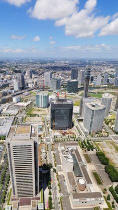 Japan Yokohama Cityscape iPhone 5 wallpapers, backgrounds, 640 x 1136