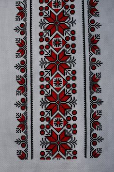 Your place to buy and sell all things handmade Cross Stitch Geometric, Cross Stitch Borders, Cross Stitch Flowers, Cross Stitch Designs, Cross Stitching, Cross Stitch Patterns, Hand Embroidery Stitches, Cross Stitch Embroidery, Embroidery Patterns