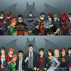Geek Discover Beautiful batfam if only Nightwing was the right color. Nightwing, Batgirl, Catwoman, Marvel Dc Comics, Bd Comics, Harley Quinn, Comic Books Art, Comic Art, Univers Dc