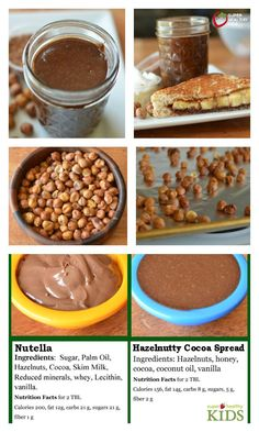 Hazelnutty Cocoa Spread Recipe {Homemade Nutella} - One of the homemade recipes we think tastes better than store-bought! http://www.superhealthykids.com/hazlenutty-cocoa-spread-homemade-nutella/